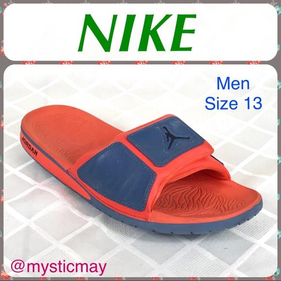 255ac71e6b5b2c NIKE Mens Air Jordan Hydro III Slides Sport Sandal.  M 5ad298a636b9de2d16371f89